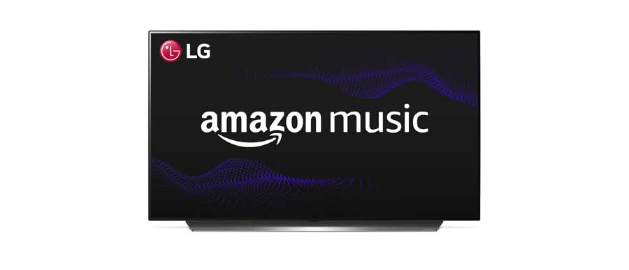 Amazon Music, ya disponible en los LG Smart TV en España.